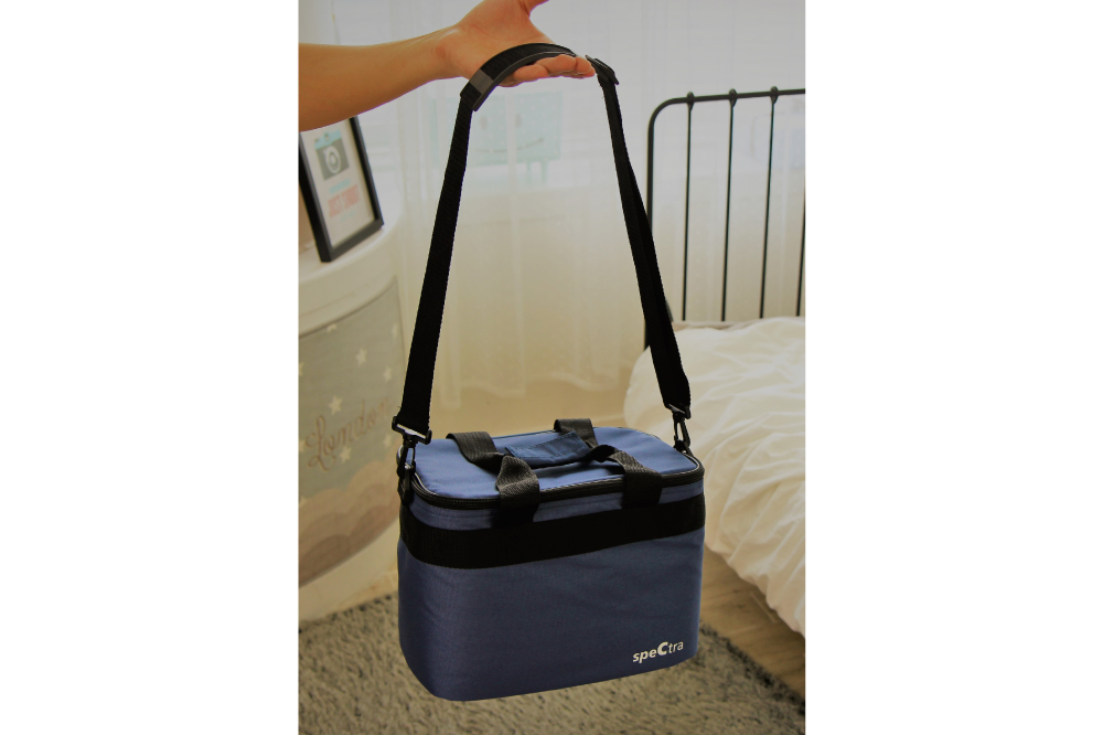 insulated pump carry tote bag spectra accessories ice pack